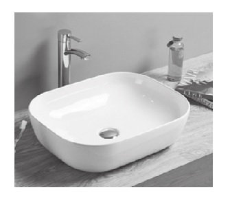 Vera Above Counter Basin D.151 (50.5x40.5cm)