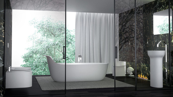 Keuco Prime Freestanding Bathtub