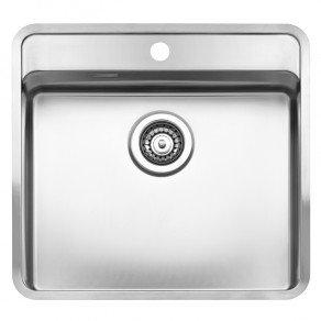 Reginox Ohio Single Bowl Kitchen Sink w/ Tapwing L50x40