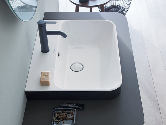 Duravit Happy d.2 Plus Countertop/Drop In Basin 236060 (60x46cm)
