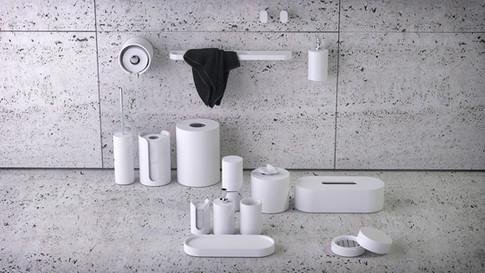 """Knief K-Stone """"Oval"""" Bath Accessories"""