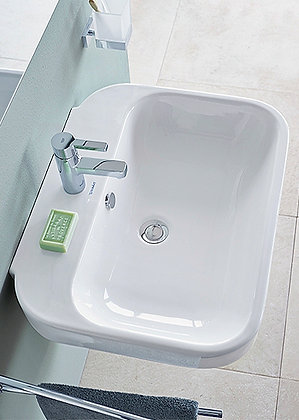Duravit Happy d.2 Wall Mounted Basin 231660 (60x47.5cm)