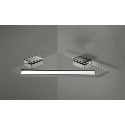 Inda New Logic Corner Glass Shower Shelf 3331A