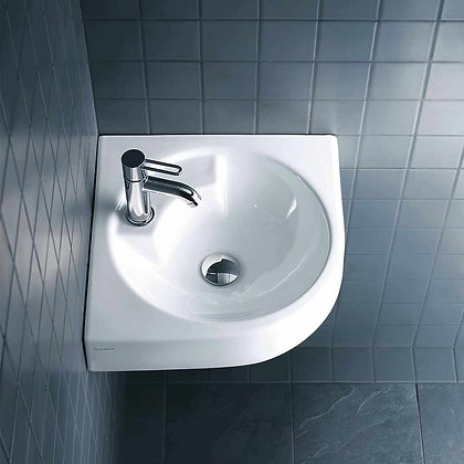 Duravit Architec Wall Mounted Corner Basin 044845