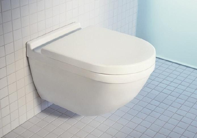 Duravit Starck 3 Wall Mtd WC Bowl