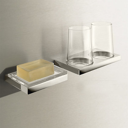Keuco Edition 11 Wall Mounted Double Tumbler Holder 11151