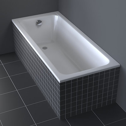 Duravit D-Code Built In Bathtub 700098