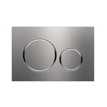 Geberit Sigma 20 Dual Flush Push Plate - Brushed SS