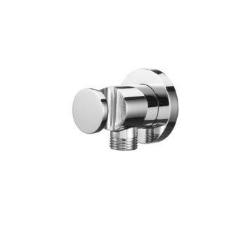 Crestial Vita Shower Wall Union w/ Shower Holder C28211