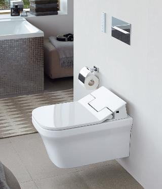 Duravit P3 Comforts Wall Mounted Toilet 256159