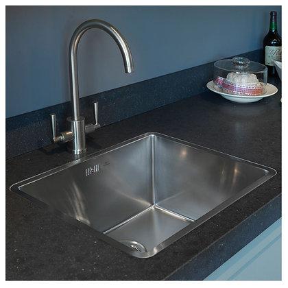 Reginox Kansas Single Bowl Kitchen Sink L50x40