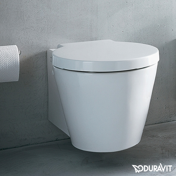 Duravit Starck 1 Wall Mtd WC Bowl