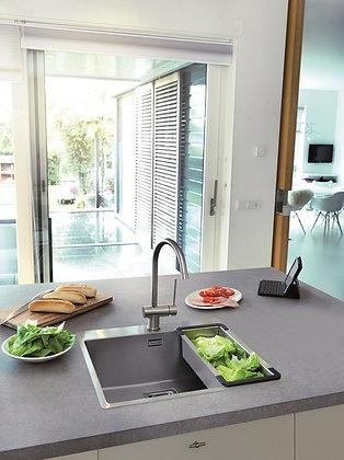 Reginox Texas Single Bowl Kitchen Sink w/ Tapwing L50x40