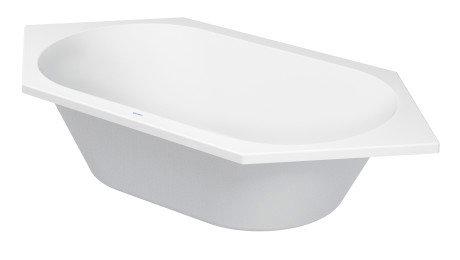 Duravit D-Code Built In Corner Bathtub 700138
