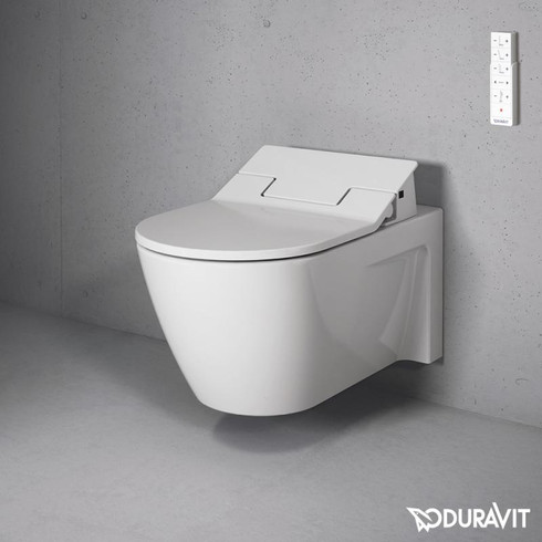 Toilets from Duravit and American Standard