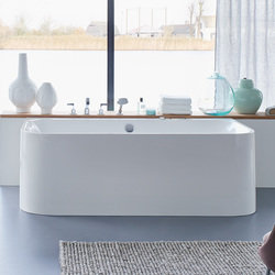 Duravit Happy d.2 Freestanding Back-to-Wall Bathtub 700318