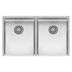 Reginox New York Double Bowl Kitchen Sink L34x40 + 34x40