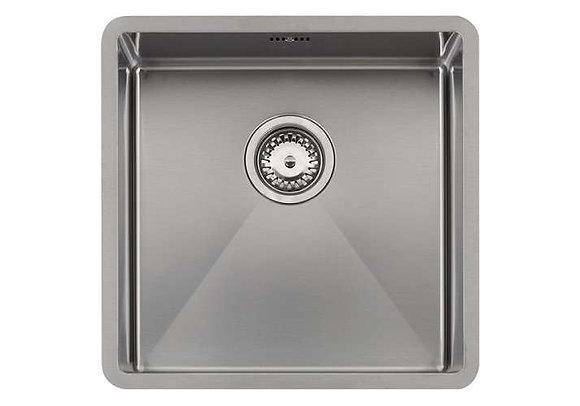 Reginox Florida Single Bowl Kitchen Sink L40x40