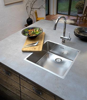 Reginox New York Single Bowl Kitchen Sink L40x40