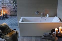 Duravit Starck 3 Built in Bathtub