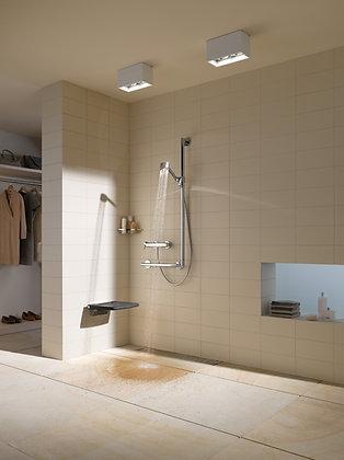 Keuco Plan Care Wall Mounted Flip Up Shower Seat 34983