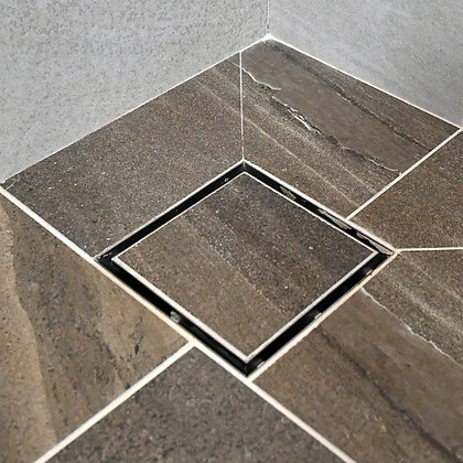 "Square floor trap FT-91.6 (6x6""/150x150mm)"