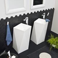 Art Ceram Sharp Free Standing Basin
