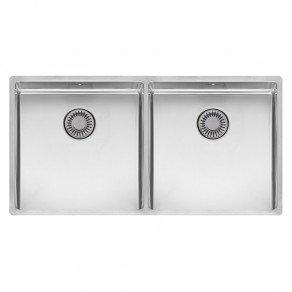Reginox New York Double Bowl Kitchen Sink L40x40 + 40x40