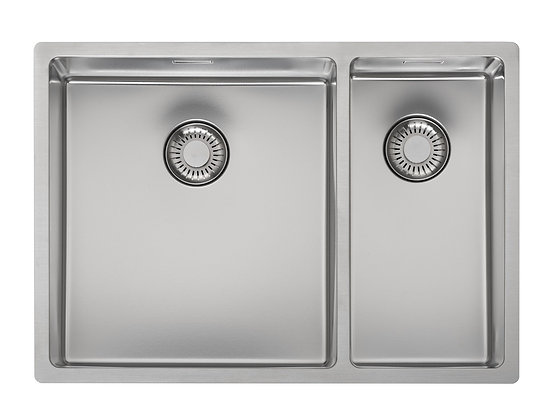 Reginox New Jersey Double Bowl Kitchen Sink L34x37 + 18x37