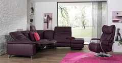 Himolla Sofa Suite model 1401 from the Planapoly Motion collection