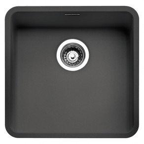 Reginox Ohio Regi-Colour Single Bowl Kitchen Sink Midnight Sky L40x40
