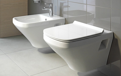 Duravit Durastyle Wall Mounted WC Bowl and Bidet