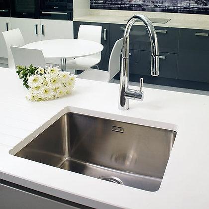 Reginox Ohio Single Bowl Kitchen Sink L50x40