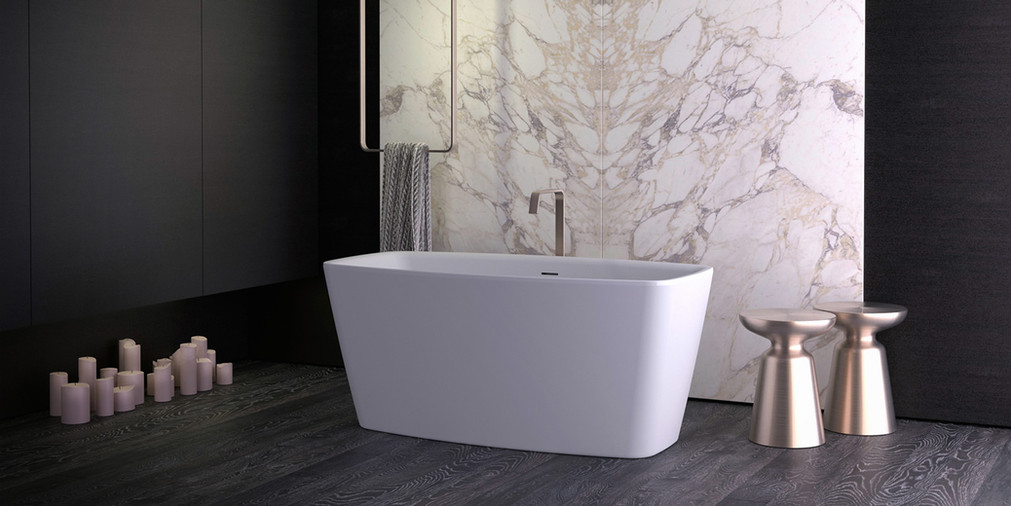 Knief Cube XS Freestanding Bathtub