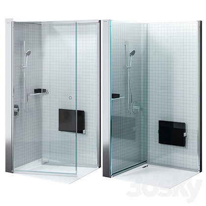 Duravit OpenSpace B Shower Glass Enclosure 770010