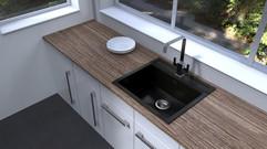 Carysil Waltz Single Bowl Sink