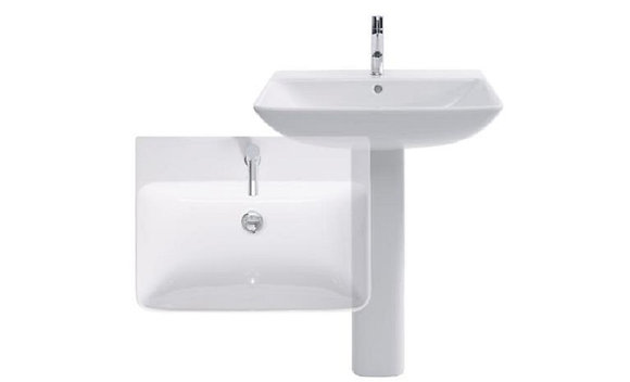 Duravit ME by Starck Wall Mounted Basin 233565
