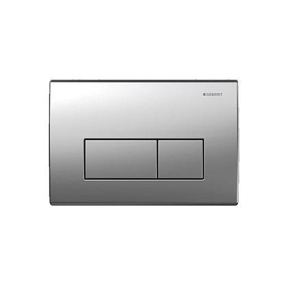 Geberit Kappa 50 Dual Flush Push Plate - Matt Chrome