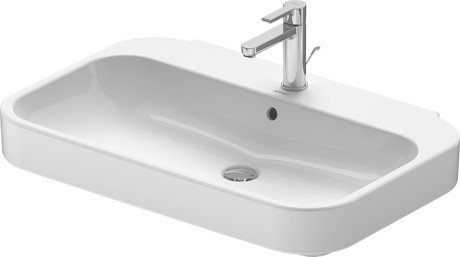Duravit Happy d.2 Wall Mounted Basin 231680 (80x52.5cm)