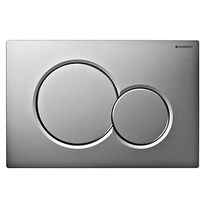 Geberit Sigma 01 Dual Flush Push Plate - Bright Chrome