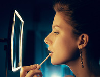 Keuco iLook Wall Mounted Magnifying Mirror with light