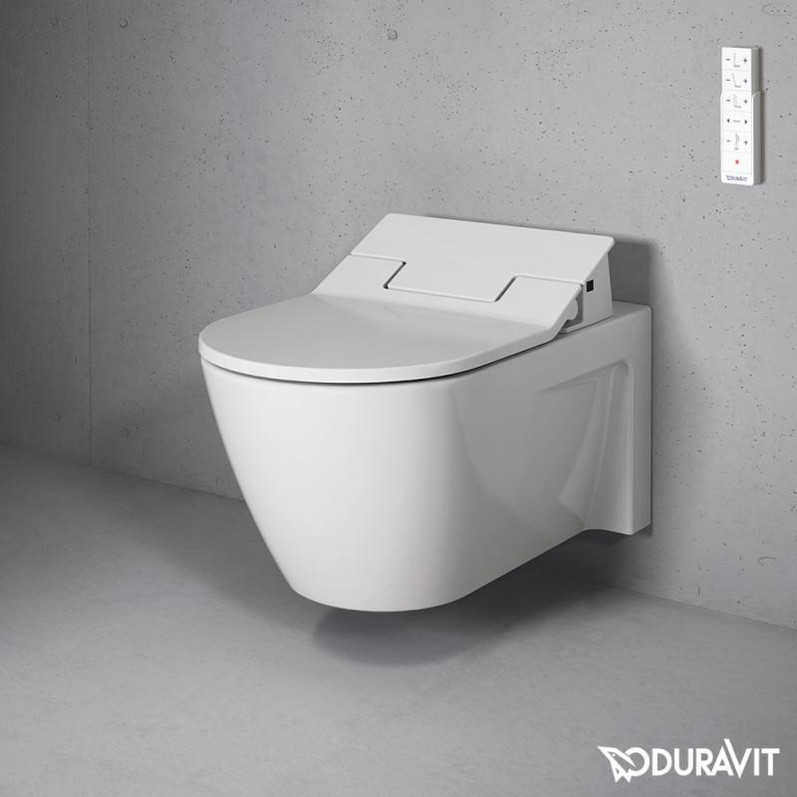 Duravit Starck 2 Wall Mounted WC Bowl with Sensowash Slim
