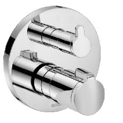 Keuco Elegance Concealed Thermostatic Shower Mixer w/ Diverter 51674