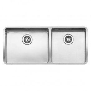 Reginox Ohio Double Bowl Kitchen Sink L50x40+40x40