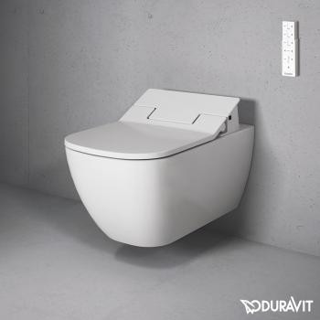 Duravit Happy D.2 Wall Mounted WC Bowl with Sensowash Slim