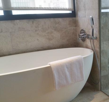 Cast Stone free standing bathtub