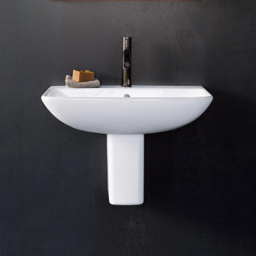 Duravit ME by Starck Wall Mounted Basin 234360