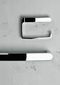 Keuco Elegance Paper Holder and Towel Bar