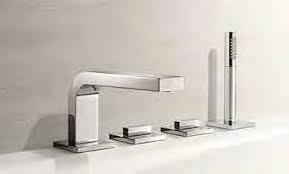 Keuco Edition 11 Deck Mtd Bath Mixer 51130