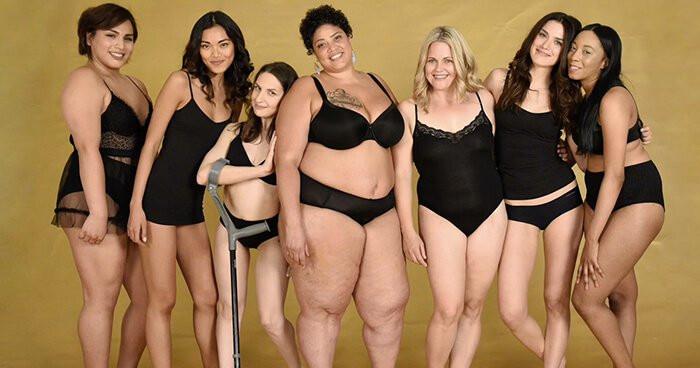 Beautiful Women All Shapes